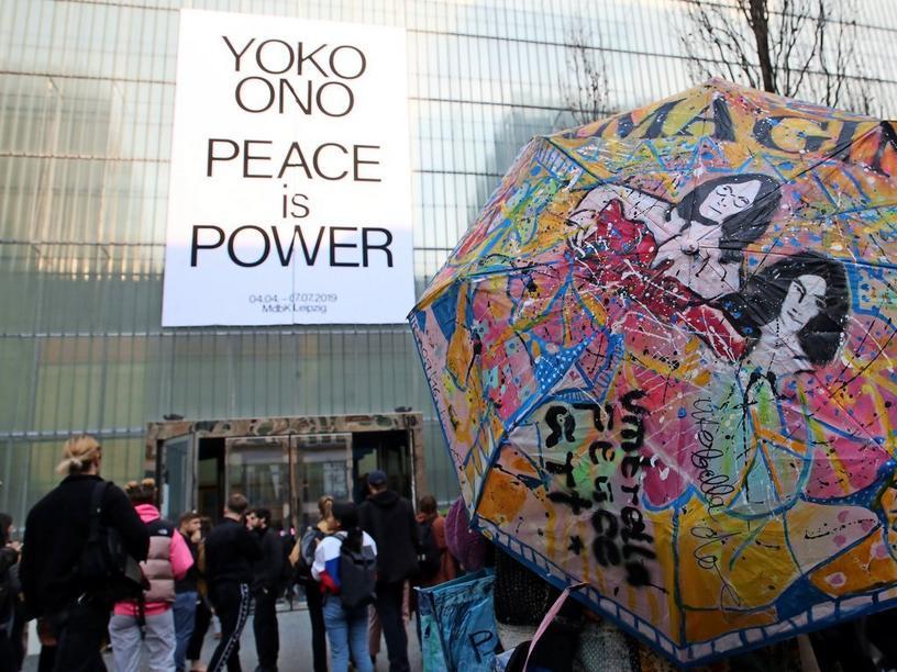 """Ausstellung """"Yoko Ono Water Event"""""""