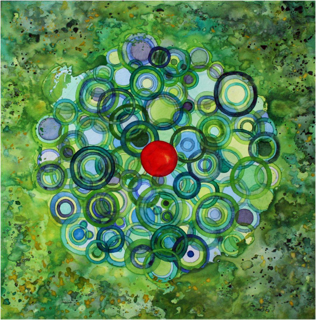 Mandala Wasserkreise