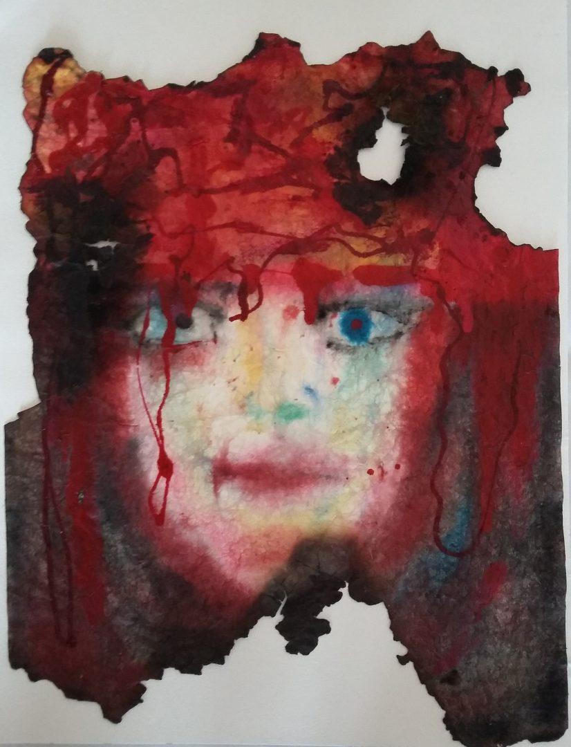 Seelenportrait, fingerpaint