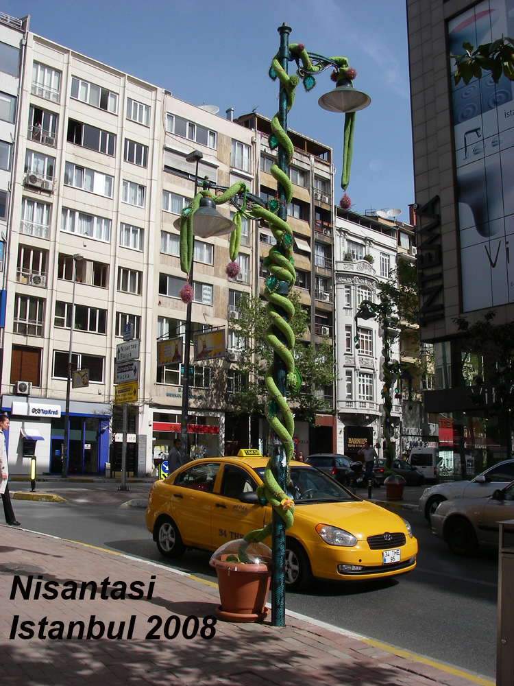 Interaktive Greeny-Aktion in Nisantasi / Istanbul, 2008