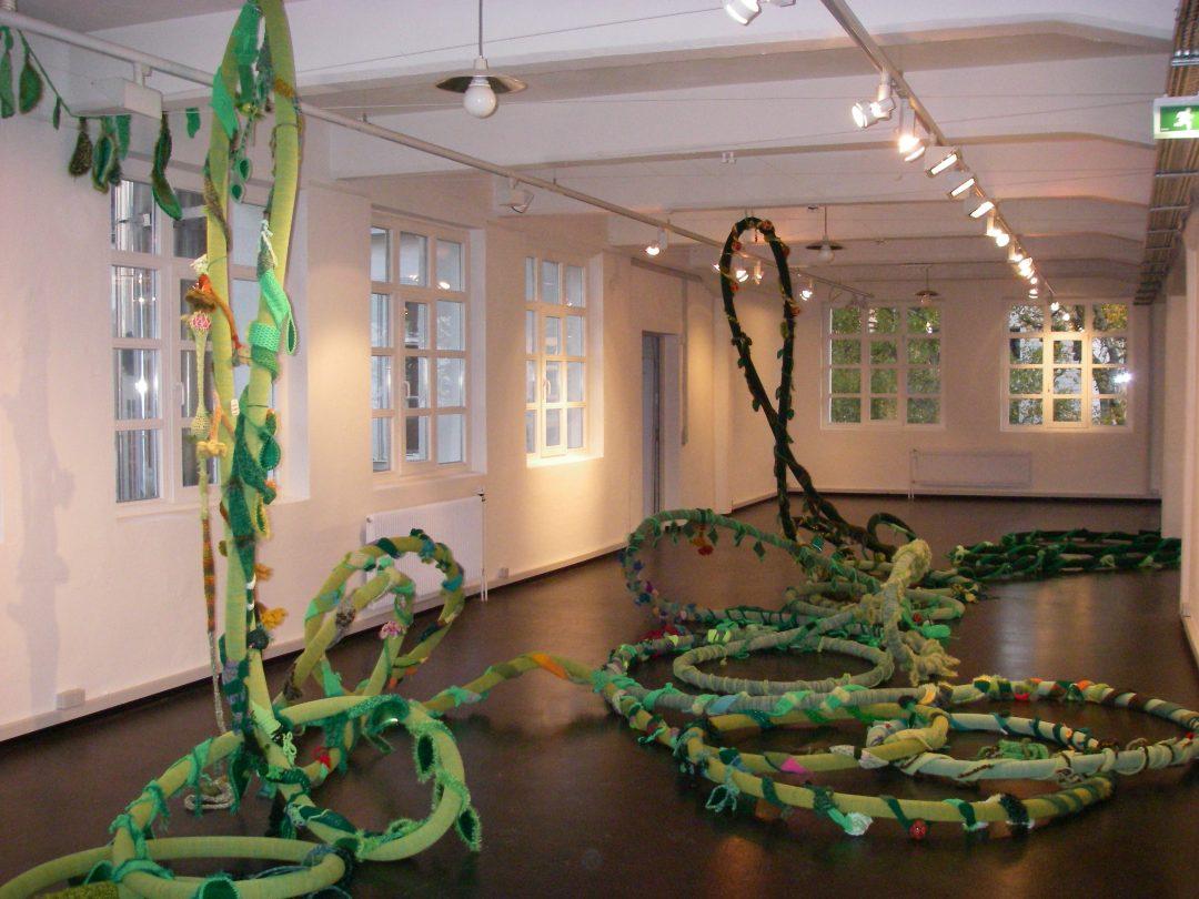 Interaktive Greeny-Installation im Maschen Museum Hamburg, 2008