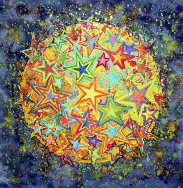 Mandala Nachtleuchten II